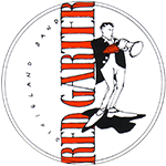 RED GARTER Dixieland Band Logo